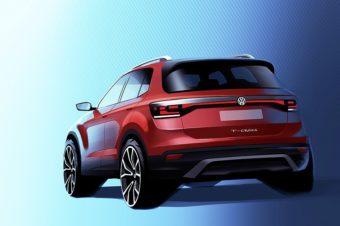 VW、コンパクトSUV「T-Cross」発売へ