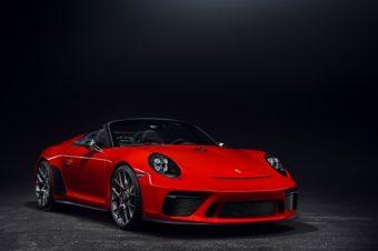 911スピードスター、限定生産決定