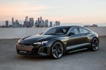 近未来EVクーペ、「e-tron GT コンセプト」登場