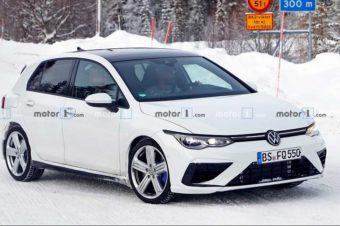 2020年新型ゴルフR、極寒の地で最終テストか